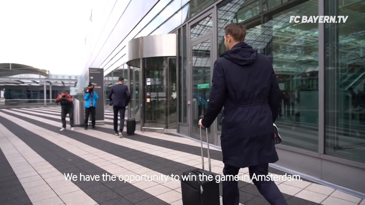 Behind The Scenes: Bayern's Journey To Amsterdam