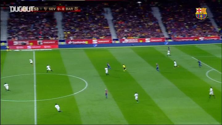 Barcelona hammer Sevilla 5-0 to win 30th Copa del Rey
