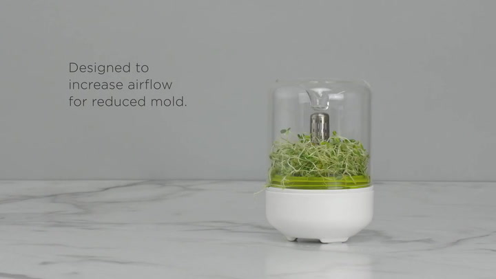 Preview image of Chef'n Countertop Sprouter Growing Kit video