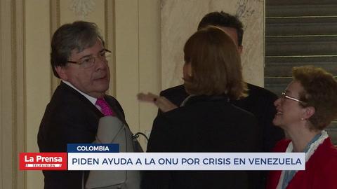 Colombia pide ayuda a la ONU por crisis en Venezuela
