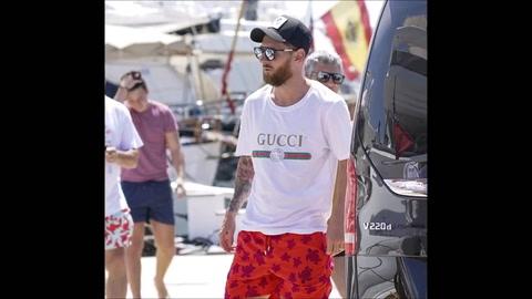 Messi y Nadal se encontraron en una de las clásicas fiestas de Ibiza