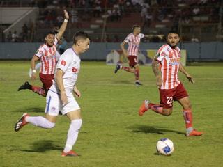 El gol de Olimpia anotado por Matías Garrido al Vida en La Ceiba