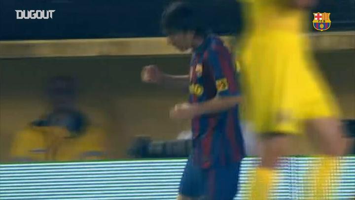 Messi's brace help Barcelona sink Villarreal