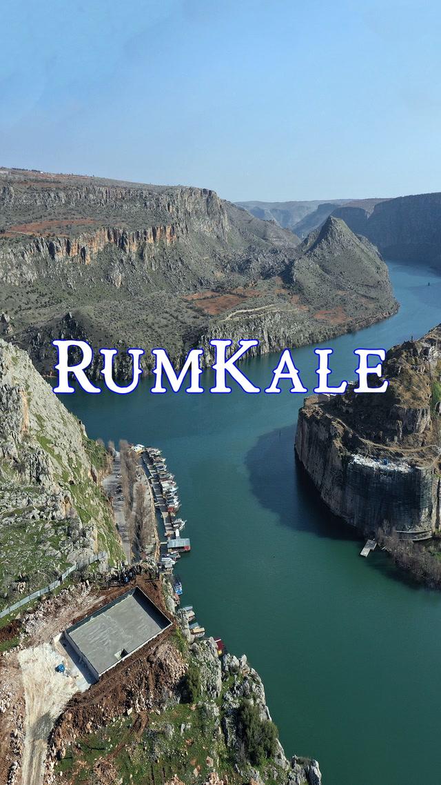 Tarihi, görkemli Rumkale.