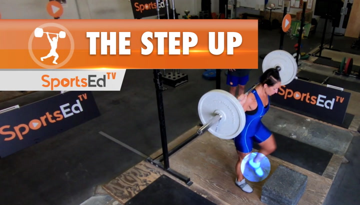 The Step Up - Essential Weightlifting Exercise