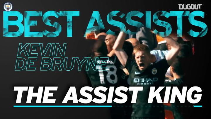 Kevin De Bruyne's best assists
