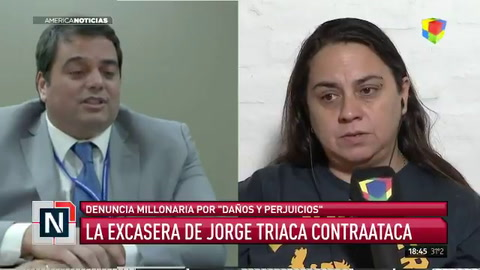 La exempleada de Jorge Triaca lo demanda por casi $4 millones