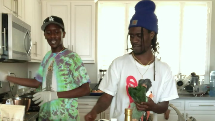Buddy & Kent Jamz Attempt to Cook Soul Food With No Instructions