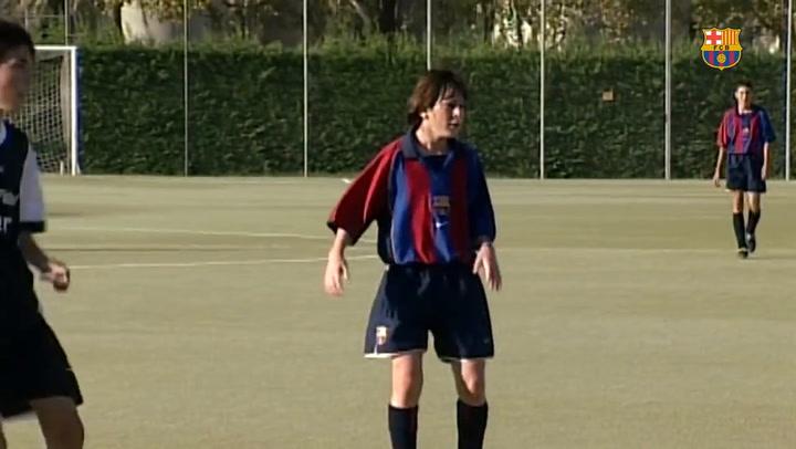 Las maravillas de Messi durante su etapa en la Masia