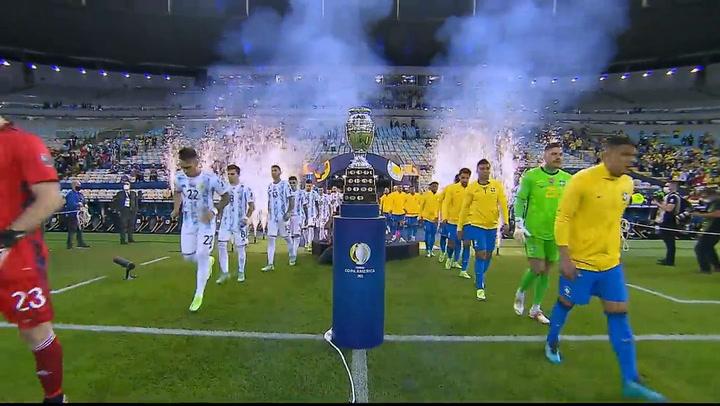Final Copa América: Mejores jugadas y entrega de la copa