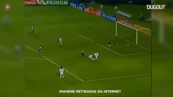 Edilson nutmegs Karembeu and scores a brace against Real Madrid