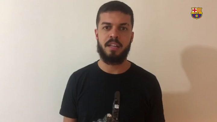 Matheus Rodrigues firma hasta 2023 y completa la plantilla del Barça