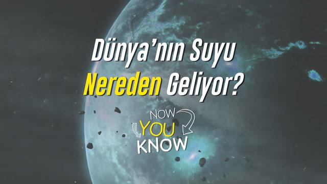Now You Know - Dünya'nın suyu nereden geliyor?