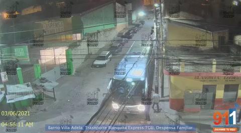 Capturan a sicarios de la pandilla 18 que intentaron matar a conductor de bus