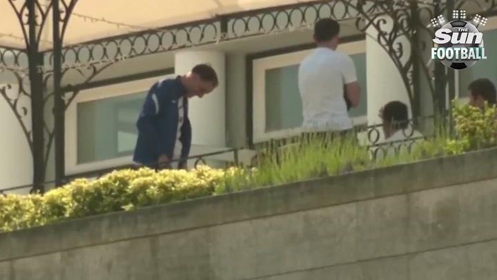 Pillan a Tuchel imitando a Pep Guardiola antes de la final de Champions