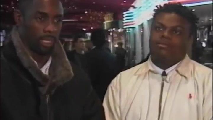 Resurfaced video shows Idris Elba reacting to Pierce Brosnan's James Bond