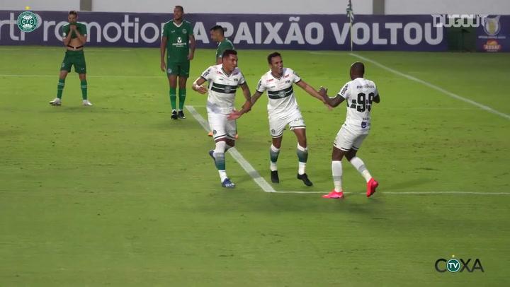 Coritiba draw against Goiás at Serrinha Stadium
