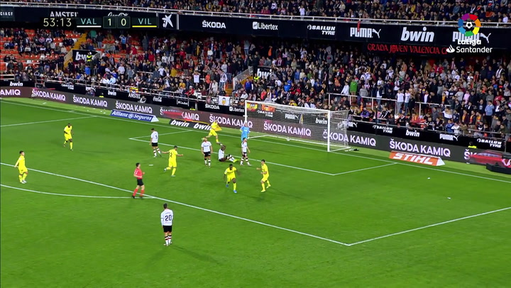 Gol de Anguissa (1-1) en el Valencia 2-1 Villarreal