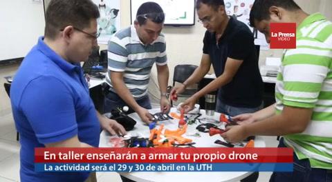En taller enseñarán a armar tu propio drone