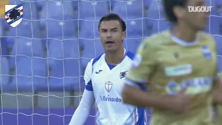 Emil Audero's unbelievable save against SPAL