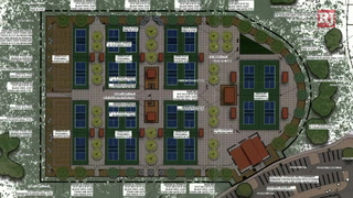 Pickleball courts coming to Sunset Park – Video