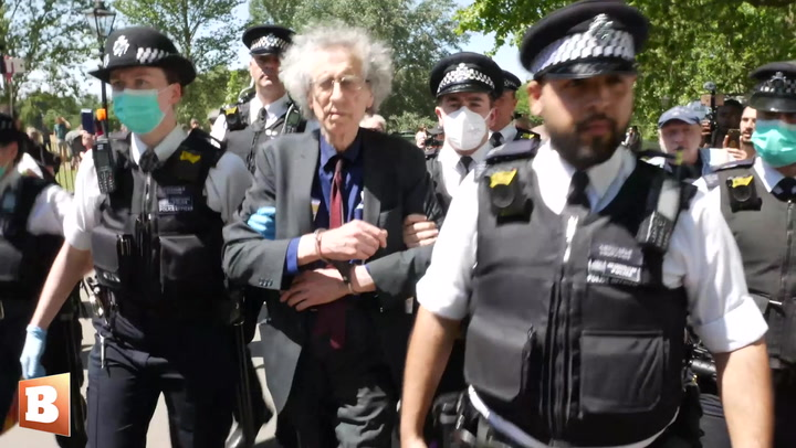 Peaceful Protestors Arrested at Anti-Lockdown Demonstration in London