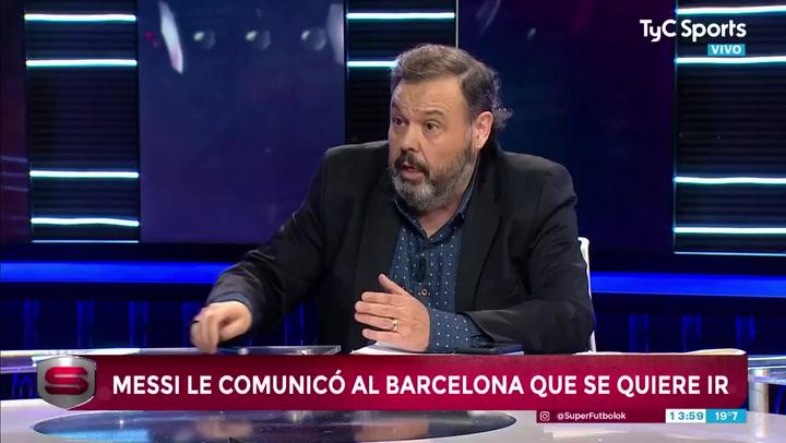 Messi comunica al Barça que quiere irse gratis