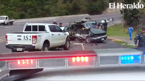 Una persona muerta deja colisión en la carretera al norte de Honduras