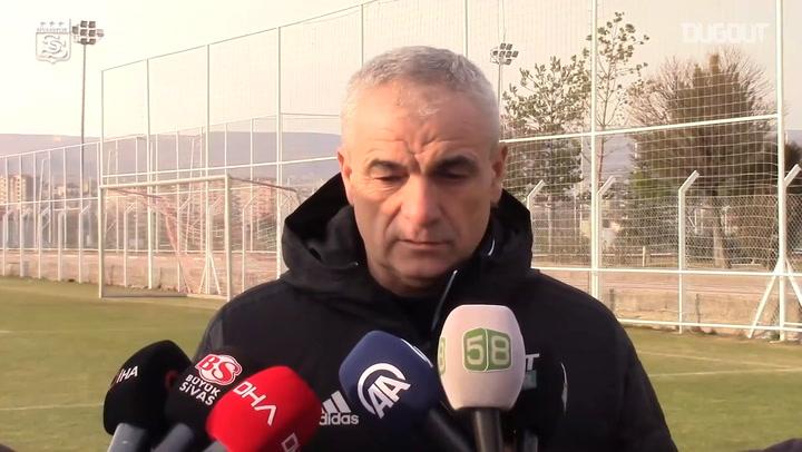 Rıza Çalımbay Fenerbahçe Maçı Öncesi Konuştu