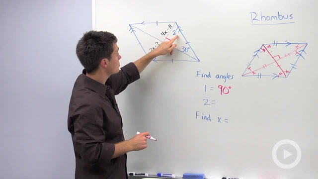 Rhombus Properties - Problem 2