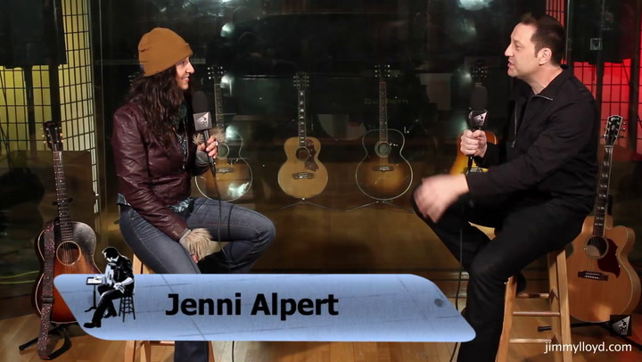 Jenni Alpert is interviewed on The Jimmy Lloyd Songwriter Showcase