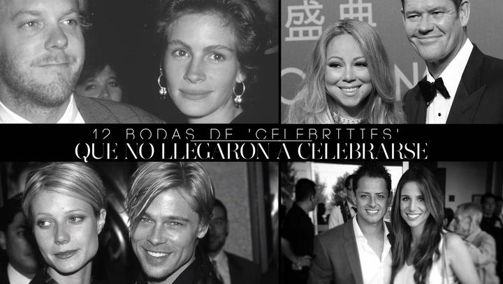 Plantados en el altar: la del ex de Kylie Minogue y otras 12 bodas que nunca llegaron a celebrarse