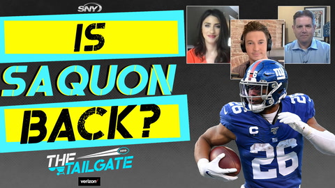 Jets ready for London road trip; Is Saquon Barkley back? | The Tailgate