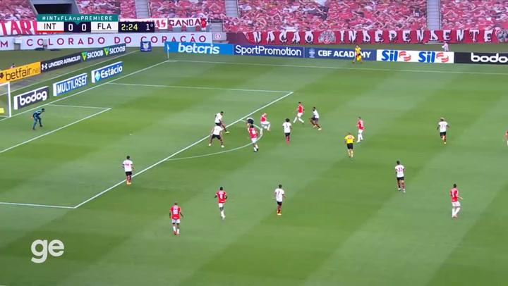 El resumen del Inter - Flamengo de la serie A de Brasil (2-2)