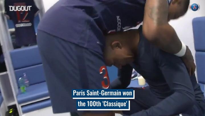 Paris Saint-Germain's win in the 100th Classique vs Marseille