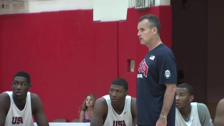 Usa Mens U18 Team Head Coach Billy Donovan