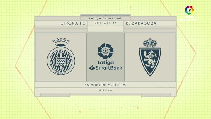 LaLiga Smartbank (Jornada 37): Girona 1-0 Zaragoza