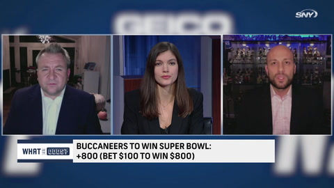 What are the odds that Tom Brady and the Buccaneers win the Super Bowl?