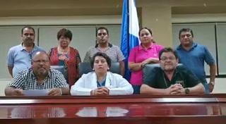 Plataforma de Salud y Educación anuncia acciones a tomar