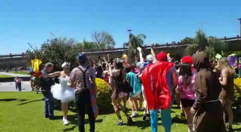 Los estudiantes de Medicina hicieron su Cruzada Solidaria 2017