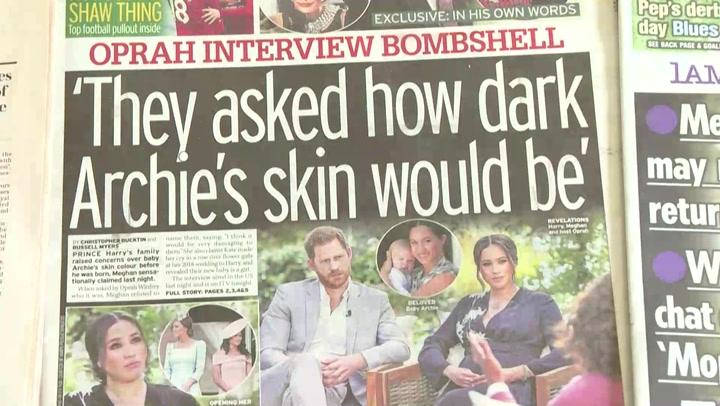 Entrevista de Enrique y Meghan cayó como una bomba en Reino Unido