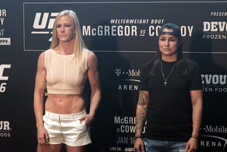 UFC 246- Media Day Staredowns