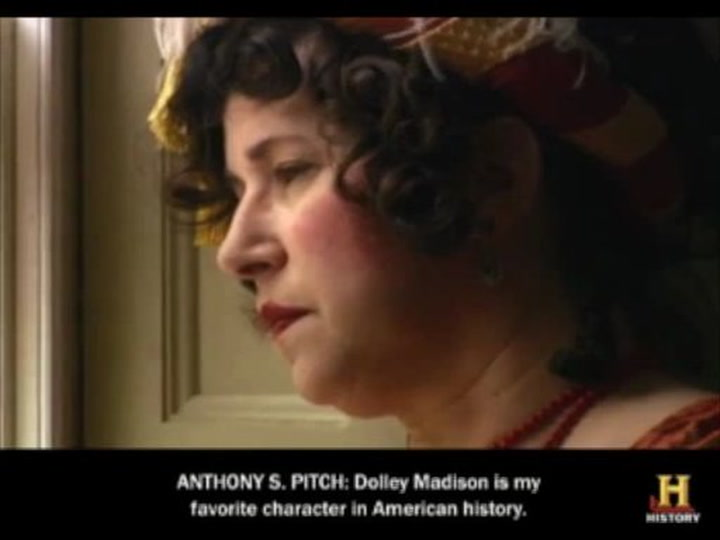 671f493ca9 The Legend of Dolley Madison s Red Velvet Dress