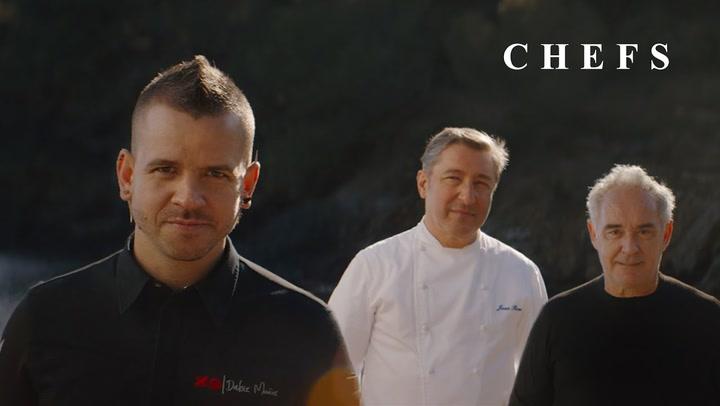 """""""CHEFS"""", con Ferran Adrià, Joan Roca, Dabiz Muñoz y muchos más"""