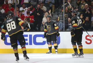 Golden Knights continue implausible start in NHL