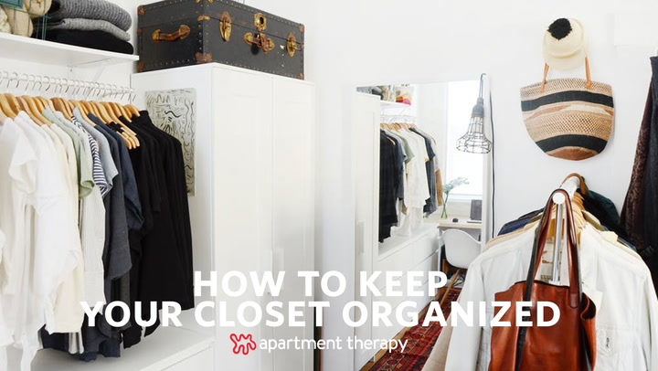 One Minute With A Professional Organizer 5 Top Tips For More Organized Closet Apartment Therapy