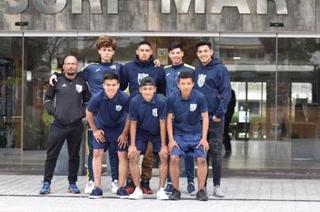 Hondureños se clasifican a semifinales en torneo de fútbol base en Girona, España
