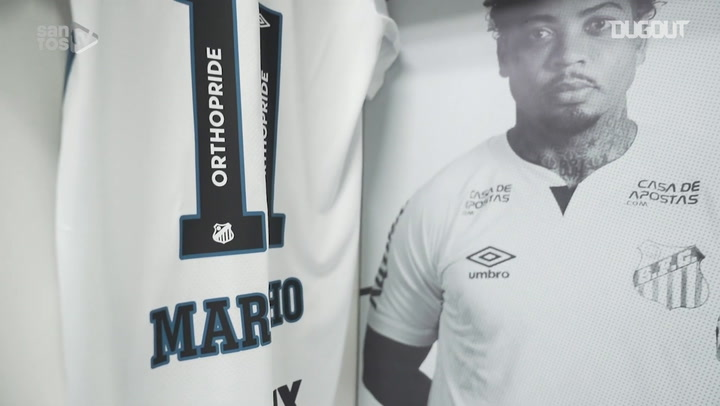 Behind the scenes of Santos' victory over Atlético-MG