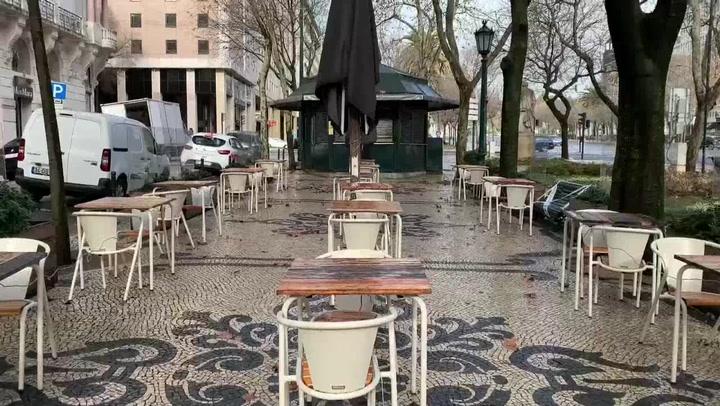 Portugal estrena medidas de confinamiento más duras tras nuevo récord de contagios