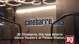 Cinebarre theaters opens at Palace Station